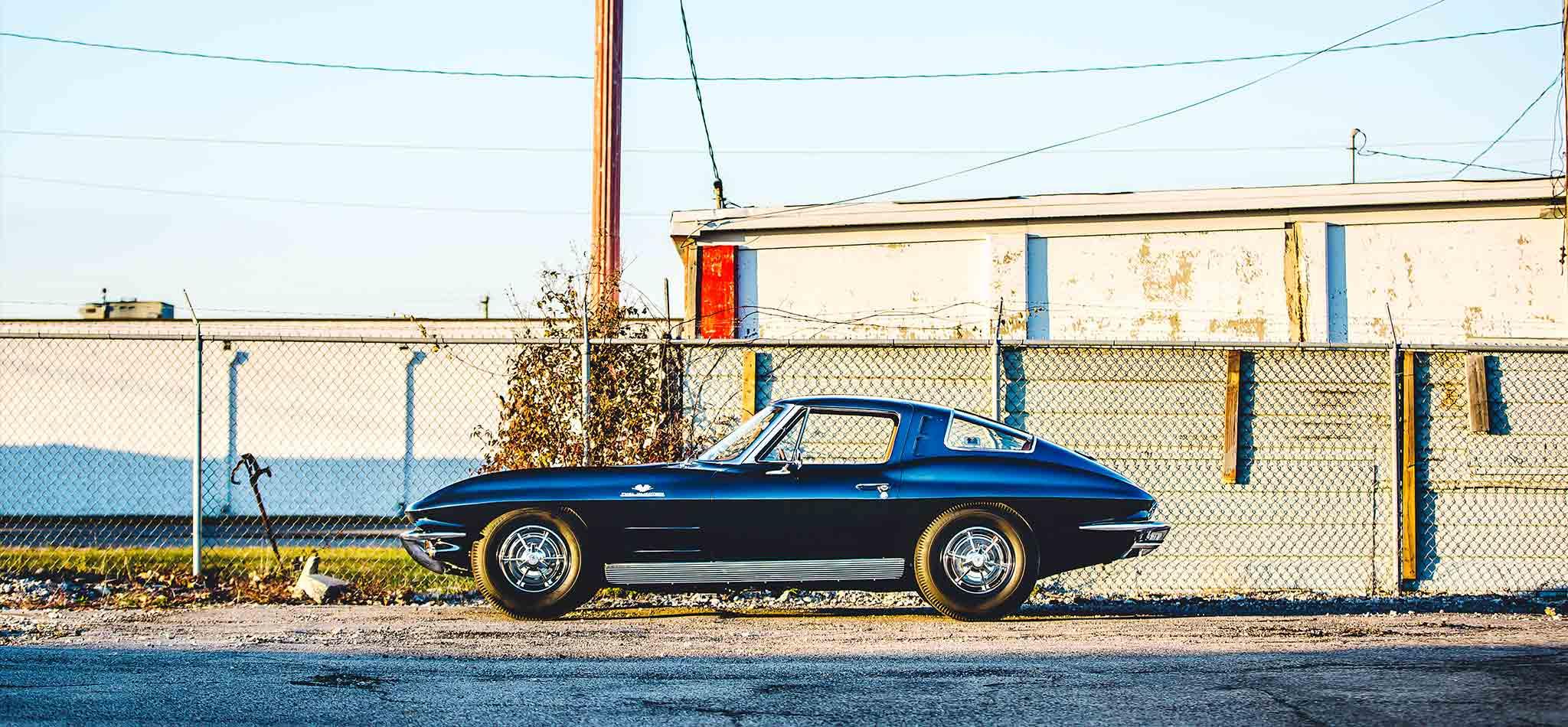 1963 Chevrolet Corvette Split Window Tedisgraphic Photo